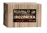 ECO ROZPAŁKAdealny produkt do rozpalania kominka, lub pieca. W 100% naturalne, w pełni wyselekcjonowane kawałki drewna, o odpowiednio zmniejszonej wilgotności.Pakowany w praktyczny i kompaktowy sposób, umożliwiający dogodne przechowywanie. Nie naciąga wilgoci.