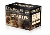 EKO STARTER Doskonały produkt do rozpalania ognia. Zwitki wełny drzewnej nasączone parafiną, dające czysty i stały płomień, pomagający rozpalić brykiet w krótkim czasie.Nadaje się też do rozpalania grilla.